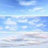 Geplaatste de achtergronden van de hemel Royalty-vrije Stock Afbeelding