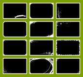 Geplaatste de Frames van de foto Royalty-vrije Stock Afbeelding