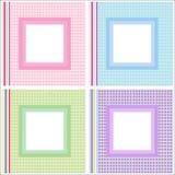 Geplaatste de frames van het beeld/van de foto Royalty-vrije Stock Afbeelding