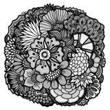Geplaatste de lentebloemen Stock Afbeelding
