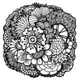 Geplaatste de lentebloemen Royalty-vrije Stock Fotografie