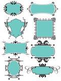 Geplaatste frames Stock Fotografie