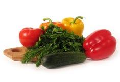 Geplaatste groenten Stock Fotografie