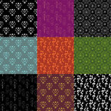 Geplaatste patronen Royalty-vrije Stock Afbeelding
