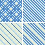 Geplaatste patronen Stock Foto