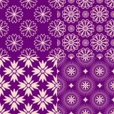 Geplaatste patronen Stock Afbeelding