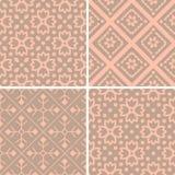 Geplaatste patronen Stock Afbeeldingen