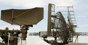 Geplaatste radar Stock Fotografie