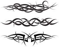 Geplaatste tatoegeringen Stock Afbeelding