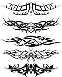 Geplaatste tatoegeringen vector illustratie