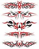 Geplaatste tatoegeringen Royalty-vrije Stock Foto