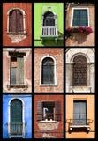 Geplaatste vensters Royalty-vrije Stock Foto's