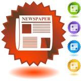 Geplaatste verbinding - Nieuws Stock Fotografie