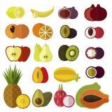 Geplaatste vruchten Royalty-vrije Stock Afbeelding