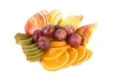Geplaatste vruchten Stock Afbeelding