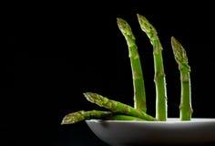 Geplateerde asperge Stock Foto