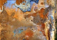 Gepleisterde muur Royalty-vrije Stock Afbeelding