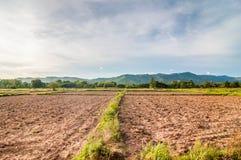 Geploegde Landbouwgrond Royalty-vrije Stock Foto