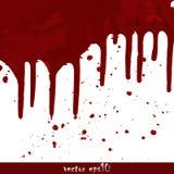 Geploeterde bloedvlekken Stock Afbeelding