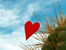 Geplukte valentijnskaart royalty-vrije stock afbeelding