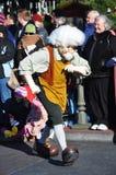 Geppetto in un sogno viene allineare celebra la parata Fotografia Stock