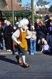 Geppetto w Sen Przychodzący Prawdziwym Świętuje Paradę Obraz Royalty Free