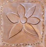 Geprägt auf der Haut, Blume Lizenzfreies Stockbild