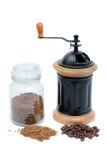 Geprägter Kaffee Stockfoto