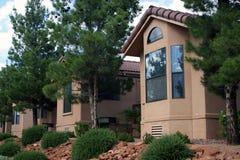 Geprefabriceerd huis vervaardigde huisvesting Stock Foto