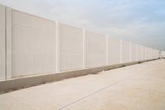 Geprefabriceerde concrete omheining stock afbeeldingen