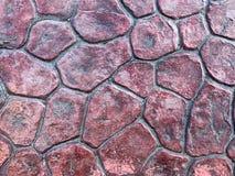 Geprefabriceerde voetpadplak Stock Afbeeldingen