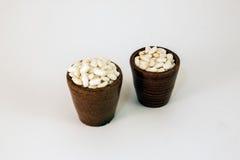 Gepufte rijst Stock Foto's