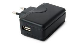 Gerät für die Aufladung über USB Stockfotografie