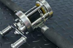 Gerät für die Fischerei Stockfotos
