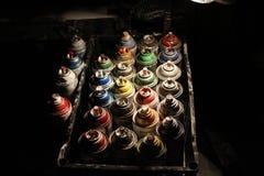 Geräte von Künstler Lizenzfreies Stockfoto