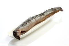 Geräucherter Aal Stockfotos