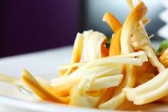 Geräucherter Käse Stockfotografie