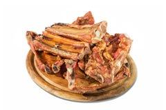 Geräucherter Schweinefleischknochen Lizenzfreies Stockbild