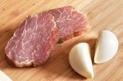 Geräuchertes Fleisch Stockbild