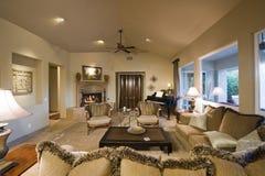 wohnzimmer mit klavier stockfoto bild 39960628. Black Bedroom Furniture Sets. Home Design Ideas
