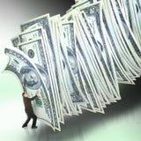 Gerência de dinheiro Imagens de Stock Royalty Free