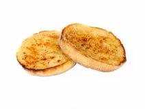 Geröstete Muffins stockbild