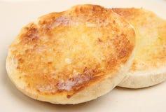 Geröstetes englisches Muffin lizenzfreies stockbild