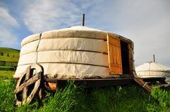 Ger mongol Photos libres de droits