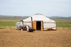 Ger Mongolia Asia centrale immagine stock libera da diritti