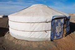 ger mongolian obrazy stock