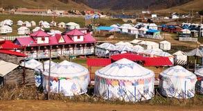 Ger tent Stock Photo