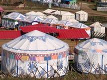 Ger tent Stock Photos