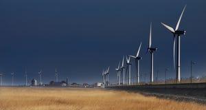 Geração 2 das energias eólicas Foto de Stock Royalty Free