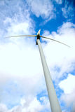 Geração das energias eólicas Foto de Stock Royalty Free